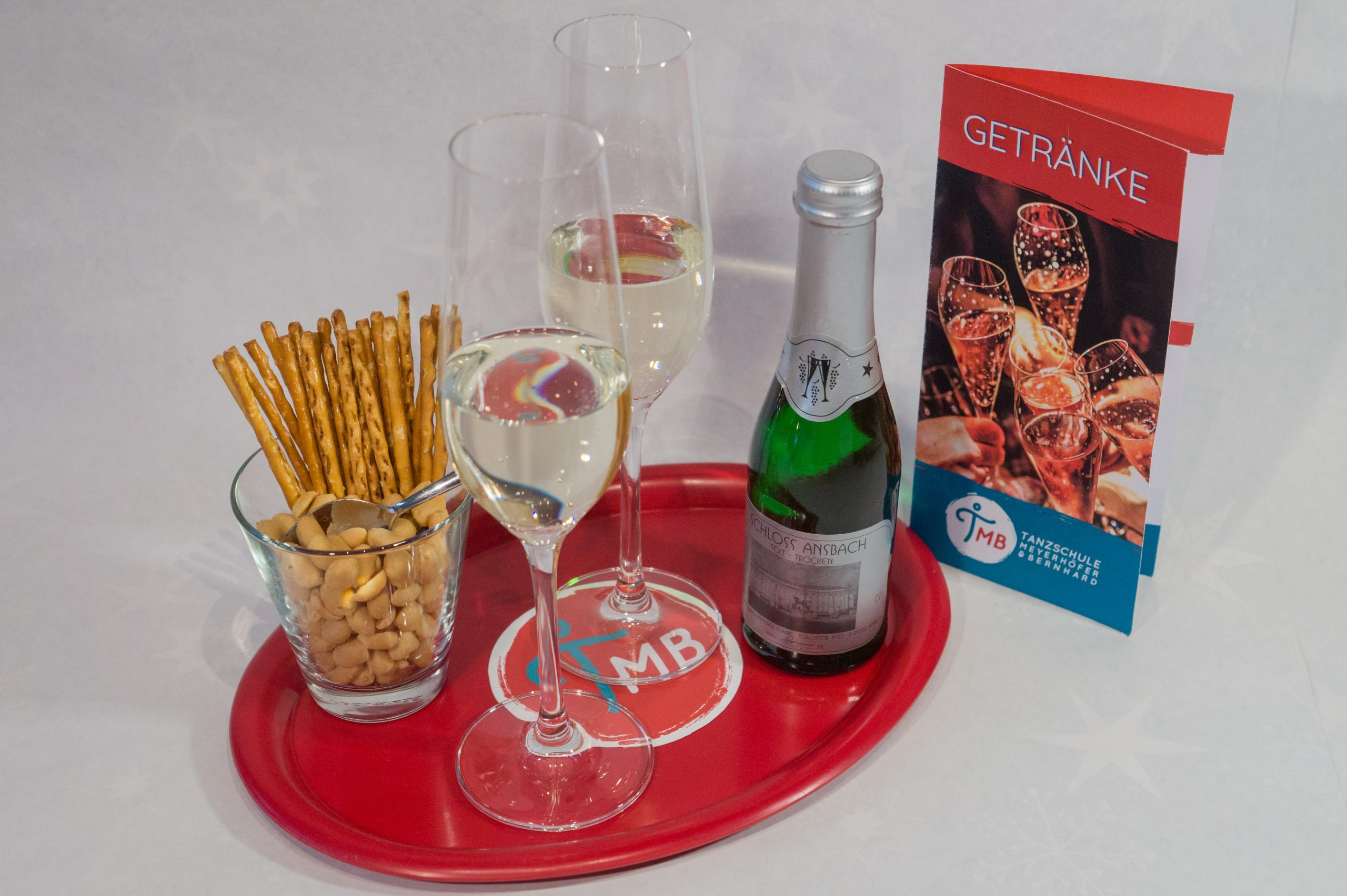 Welcome Paket Sekt & Snacks klein